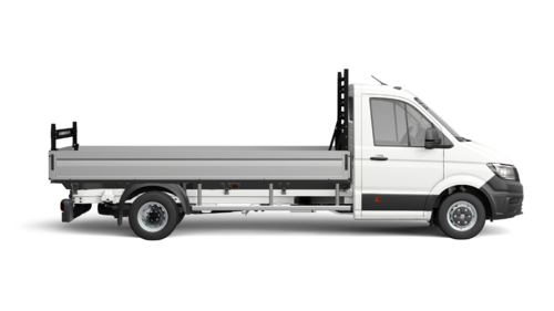 Crafter 50 Pick-up met Enkele cabine Wielbasis 4490 mm Totaal gewicht 5000 kg Motor 2.0 TDI EU6 SCR RWD BMT 177pk (130KW) Versnellingsbak ASG-8