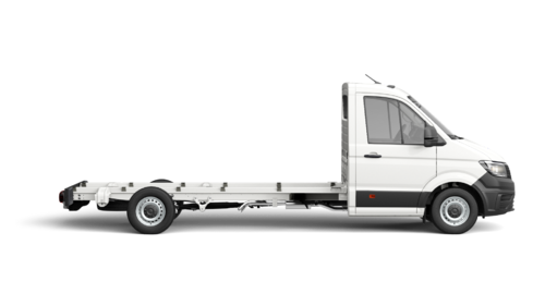 Crafter 35 Chassis met Enkele cabine Wielbasis 4490 mm Totaal gewicht 3500 kg Motor 2.0 TDI EU6 SCR RWD BMT 177pk (130KW) Versnellingsbak 6V