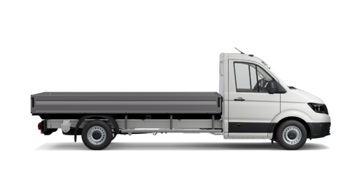 Crafter 35 Pick-up met Enkele cabine Wielbasis 4490 mm Totaal gewicht 3500 kg Motor 2.0 TDI EUVI SCR RWD BMT 177pk (130KW) Versnellingsbak 6V