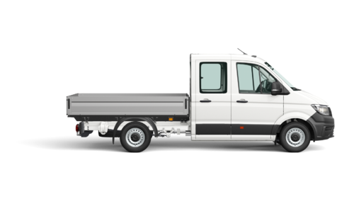 Crafter 35 Pick-up L3 DC 3640 mm 2.0 TDI EU6 SCR FWD BMT 140pk (103KW) 6V