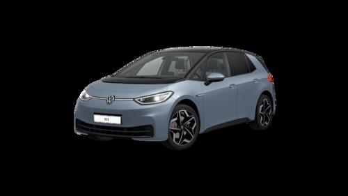 ID.3 Pro S (5 plaatsen) 77 kWh  150 kW (204 pk) 1 versnellingen